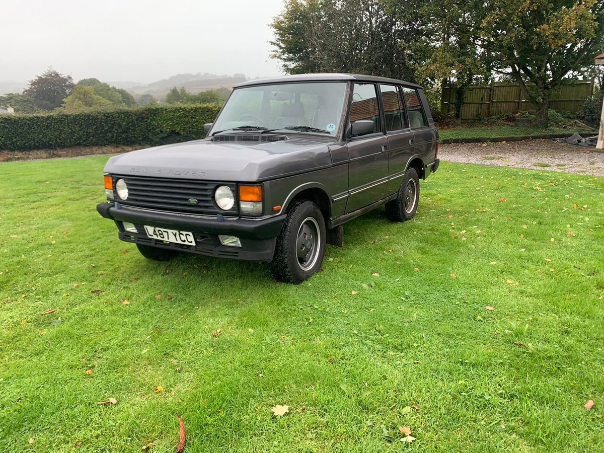 1993 Range Rover 3.9 Vogue SE in Westminster Grey For Sale (picture 2 of 6)