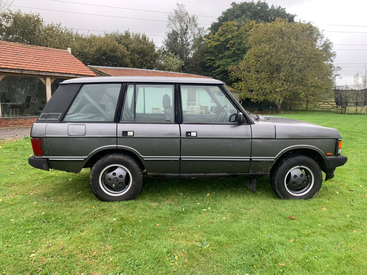 1993 Range Rover 3.9 Vogue SE in Westminster Grey For Sale (picture 4 of 6)