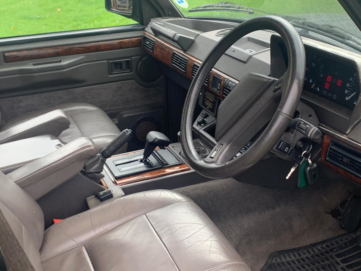 1993 Range Rover 3.9 Vogue SE in Westminster Grey For Sale (picture 5 of 6)