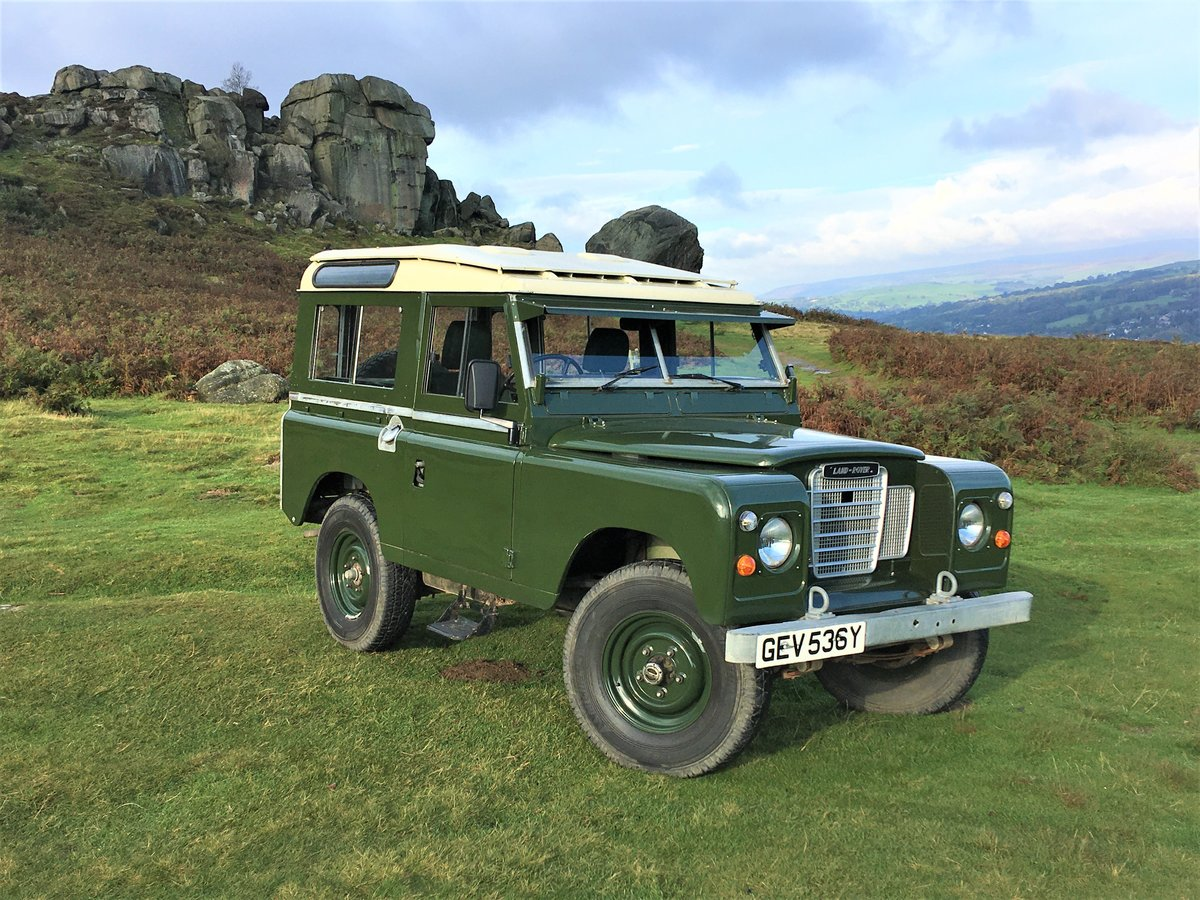 1982 LAND ROVER SERIES 3 PETROL For Sale (picture 1 of 6)
