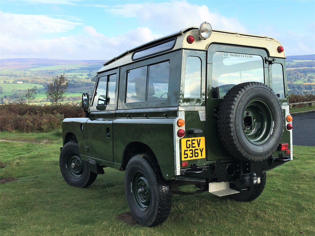 1982 LAND ROVER SERIES 3 PETROL For Sale (picture 2 of 6)