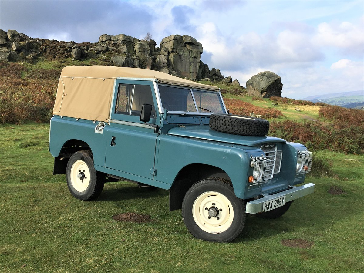 1983 lSoft Top land Rover Series 3 For Sale (picture 1 of 6)