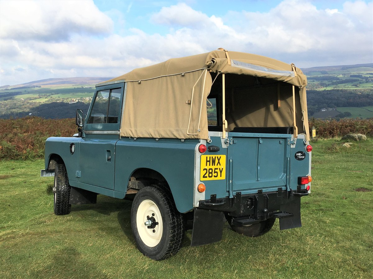 1983 lSoft Top land Rover Series 3 For Sale (picture 2 of 6)