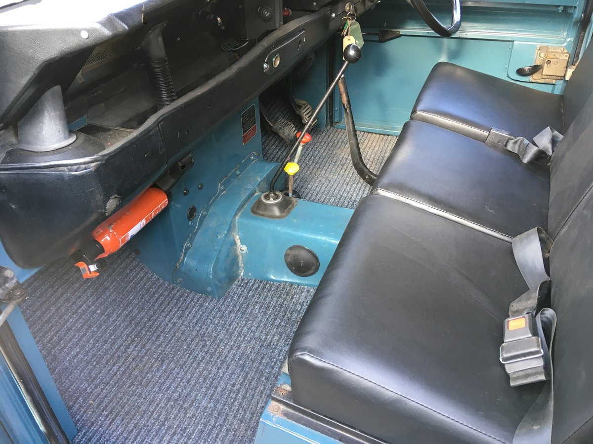 1983 lSoft Top land Rover Series 3 For Sale (picture 5 of 6)