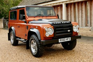 LAND ROVER DEFENDER 90 TDci FIRE and ICE Limited Edition Sta