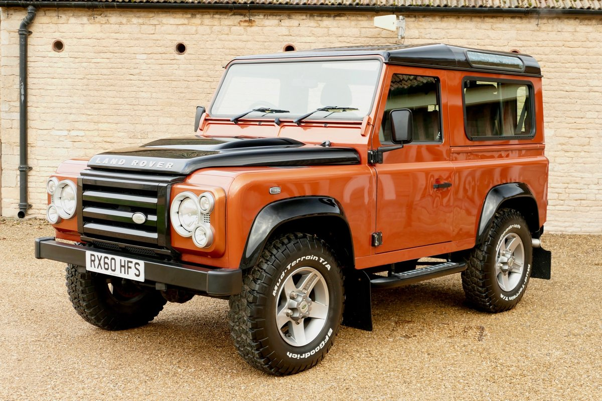 2010 LAND ROVER DEFENDER 90 TDci FIRE and ICE Limited Edition Sta For Sale (picture 2 of 6)