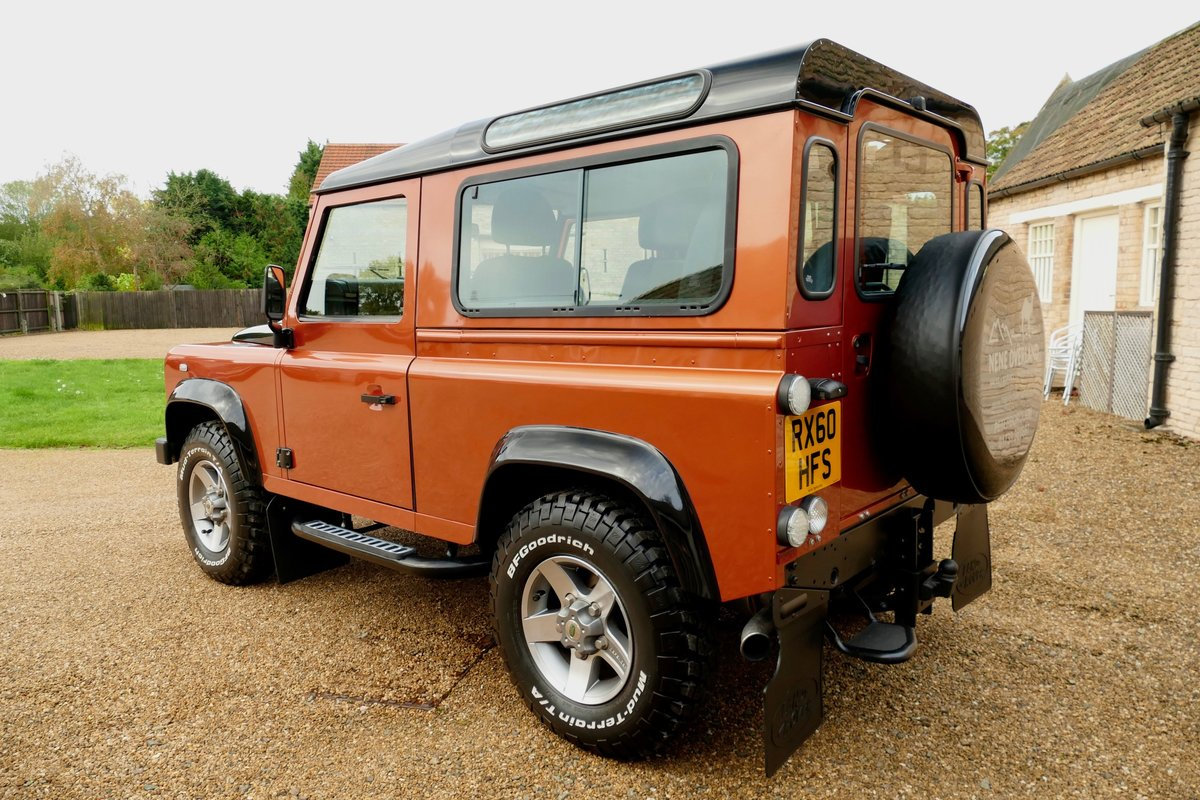 2010 LAND ROVER DEFENDER 90 TDci FIRE and ICE Limited Edition Sta For Sale (picture 3 of 6)