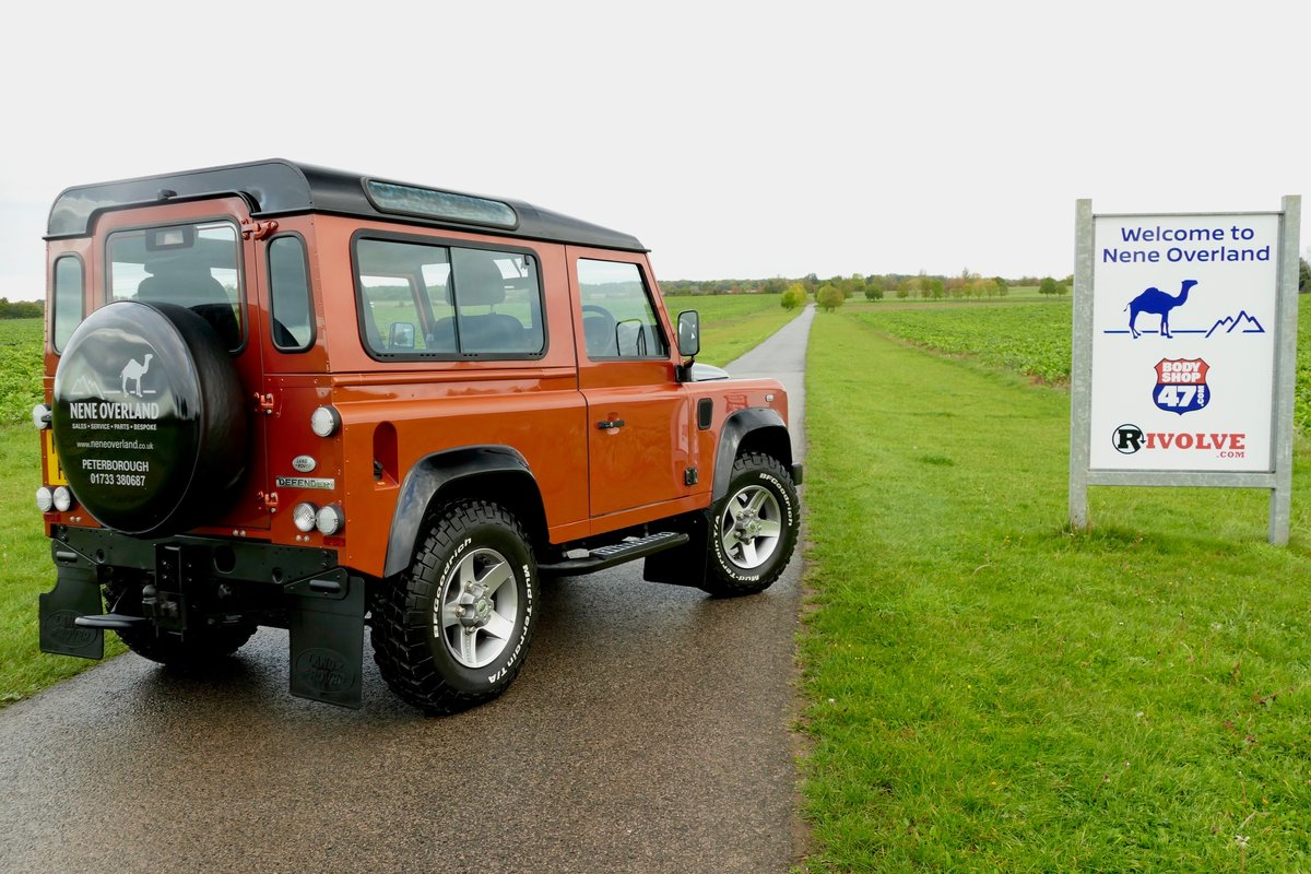 2010 LAND ROVER DEFENDER 90 TDci FIRE and ICE Limited Edition Sta For Sale (picture 4 of 6)