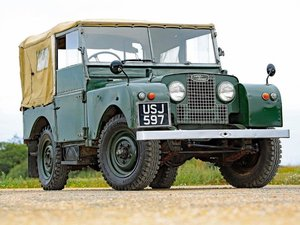 """Picture of 1951 Land Rover 80"""" Series I Soft Top at ACA 7th November  For Sale by Auction"""
