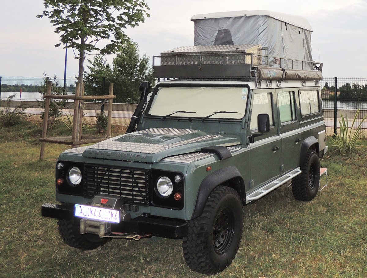 2008 Land Rover Defender 110 Puma - Camper For Sale (picture 1 of 5)