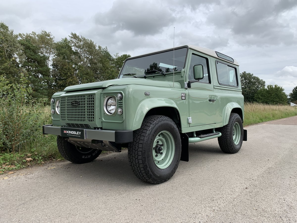 2016 LHD DEFENDER 90 HERITAGE STATION WAGON For Sale (picture 1 of 6)