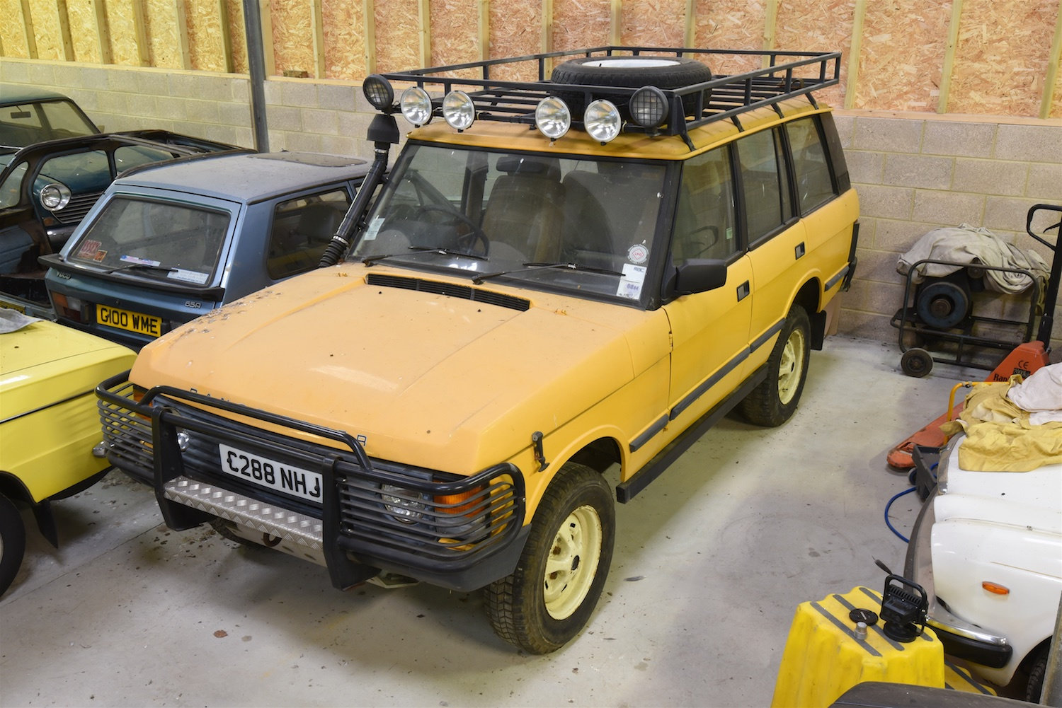 1985 Range Rover Classic – Camel Trophy replica For Sale (picture 1 of 6)