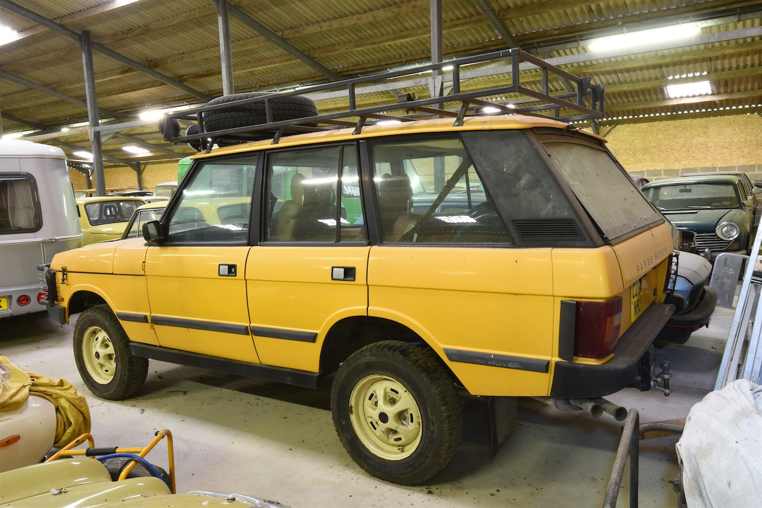 1985 Range Rover Classic – Camel Trophy replica For Sale (picture 4 of 6)