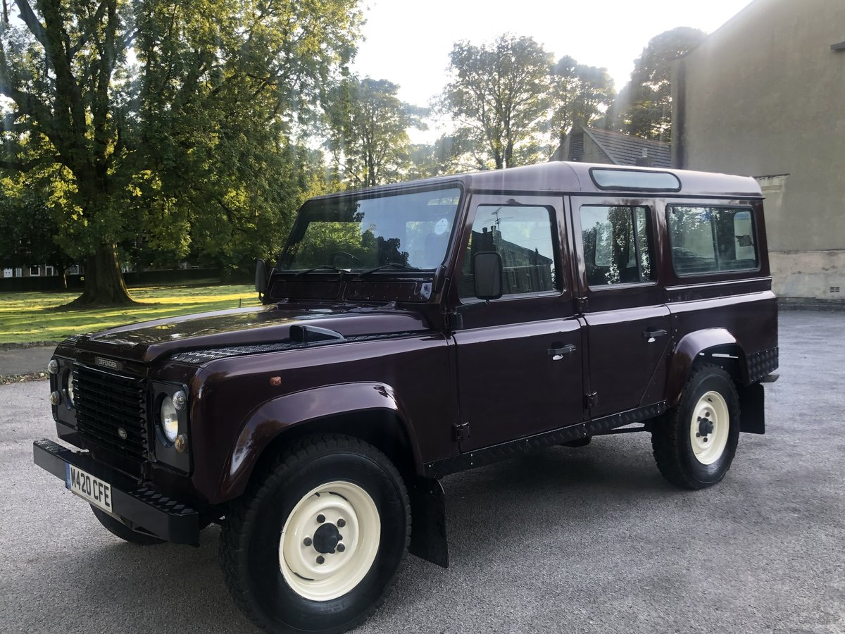 1995 /M Land Rover Defender 110 300tdi CSW For Sale (picture 1 of 6)