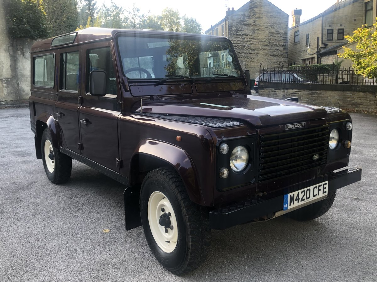 1995 /M Land Rover Defender 110 300tdi CSW For Sale (picture 2 of 6)