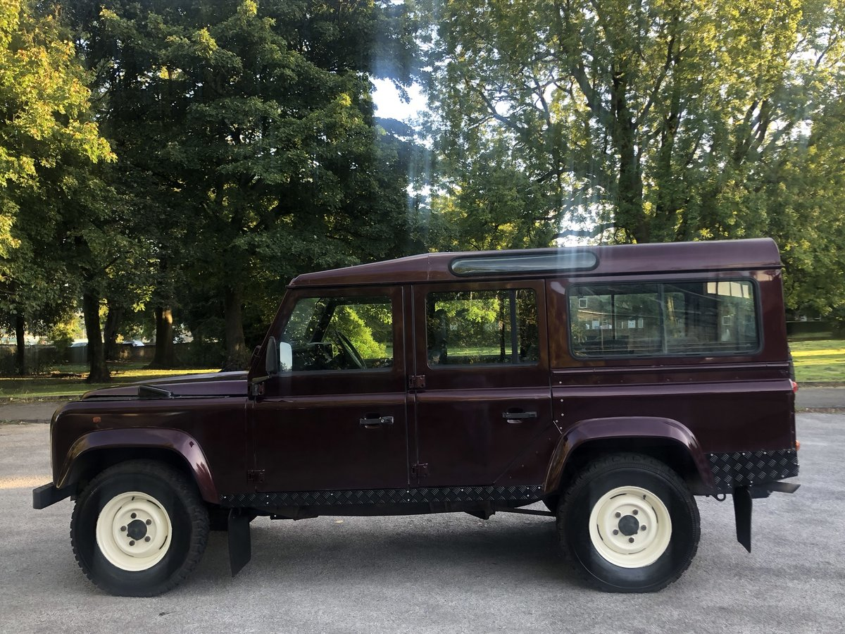 1995 /M Land Rover Defender 110 300tdi CSW For Sale (picture 3 of 6)
