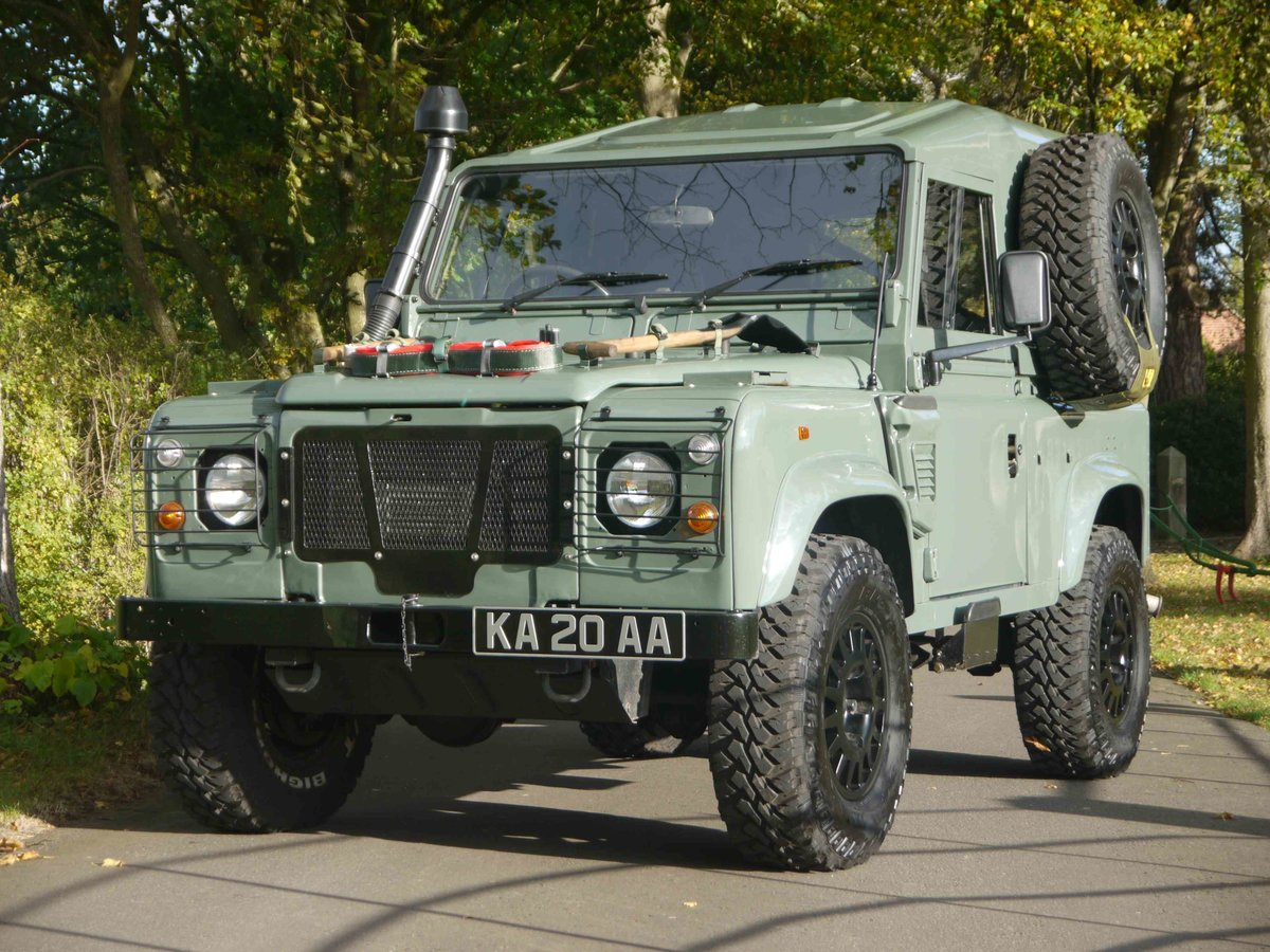 1997 Land Rover Defender 90 XD - Fully restored 'Wolf'. For Sale (picture 1 of 6)