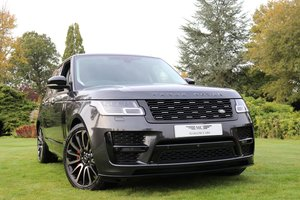Picture of 2018 Range Rover Sdv8 Autobiography SVO Style SUV 4.4 For Sale