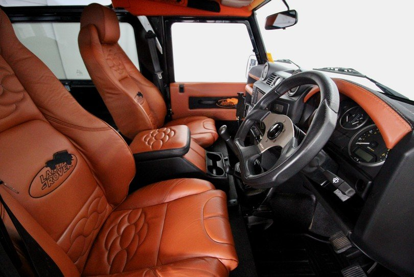 2013 Land Rover Defender 90 - Urban Upgrades - Bespoke Interior For Sale (picture 6 of 6)