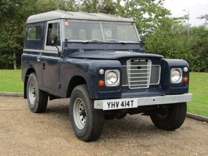 Picture of 1979 Land Rover Series 3 SWB NO RESERVE at ACA 7th November  For Sale by Auction