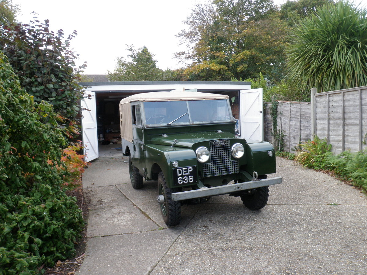 "1953 Land Rover Series 1 86"" For Sale (picture 1 of 6)"
