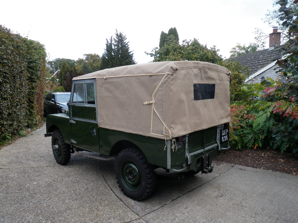 "1953 Land Rover Series 1 86"" For Sale (picture 4 of 6)"