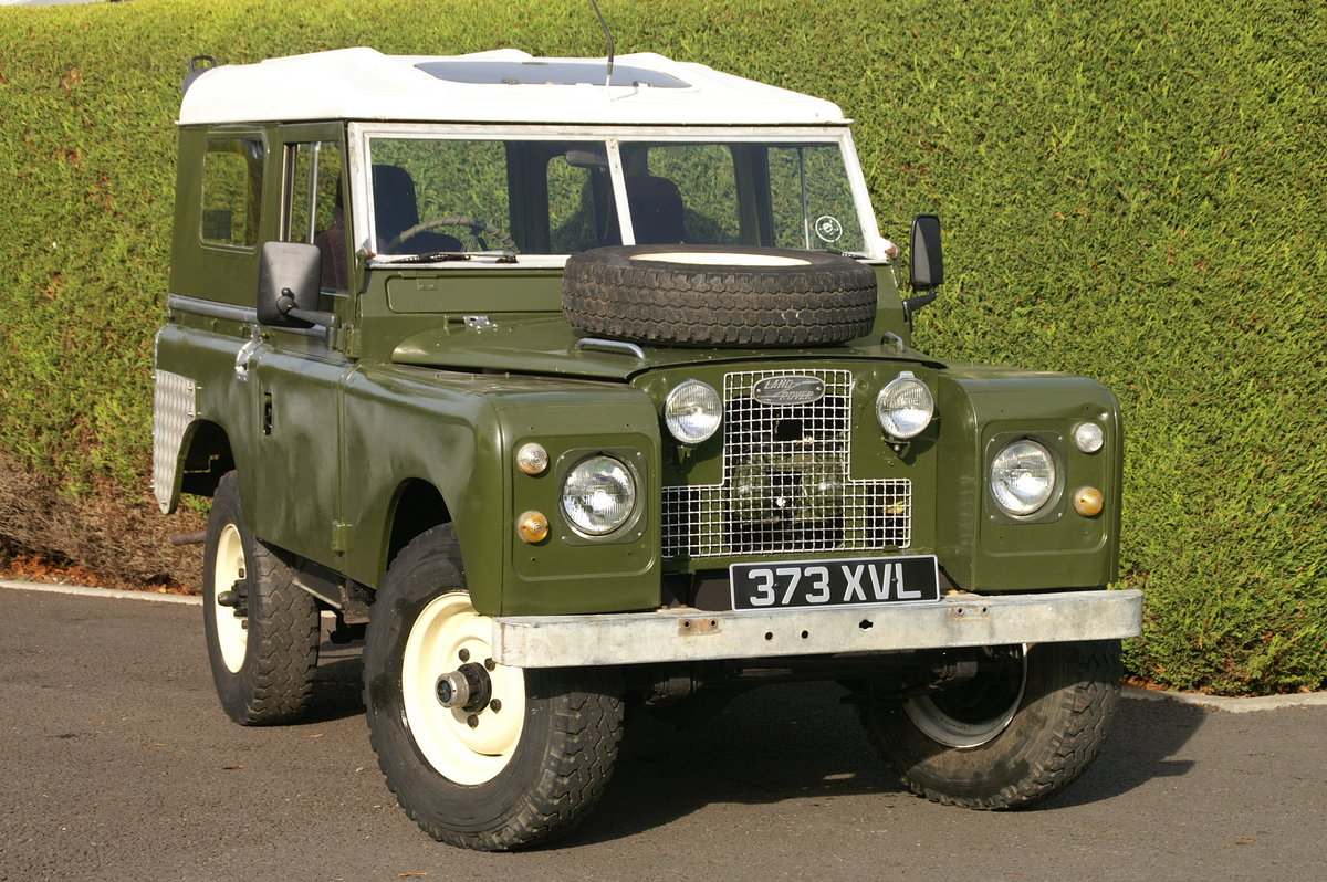 1958 Land Rover Series 2 88 For Sale (picture 1 of 6)