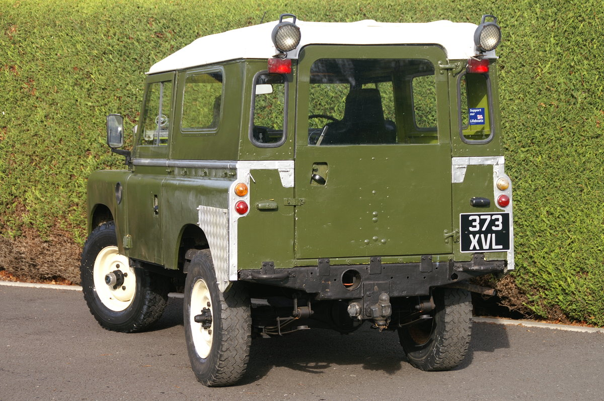 1958 Land Rover Series 2 88 For Sale (picture 6 of 6)