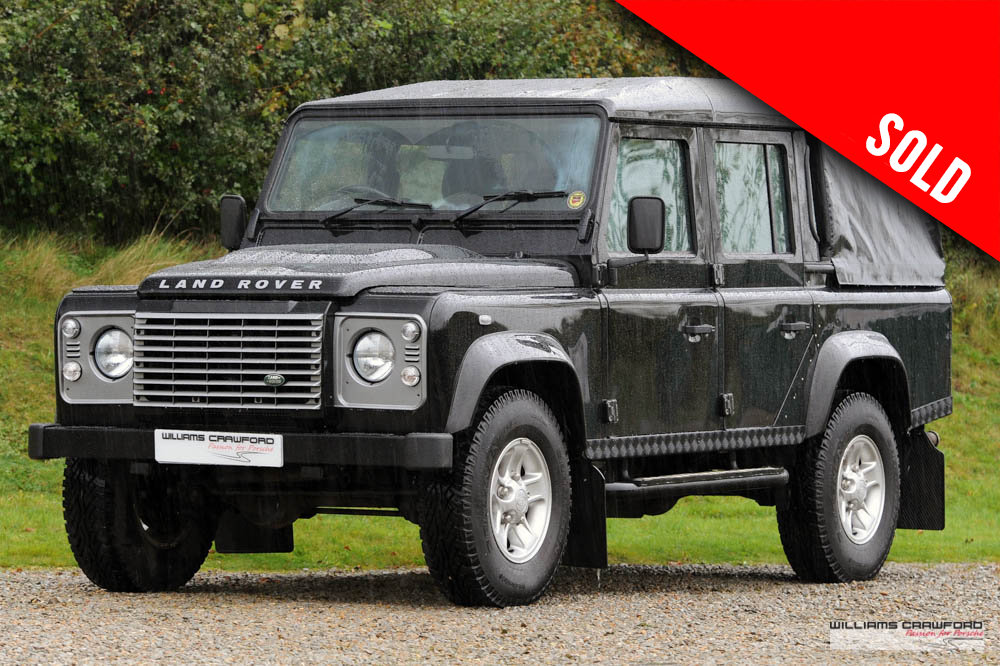 2013 Land Rover Defender 110 XS TD double cab pick-up (NO VAT) SOLD (picture 1 of 6)