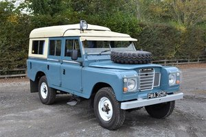 Picture of 1972 Land Rover Series III Dormobile For Sale by Auction