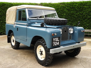 "1961 LAND ROVER SERIES 2 88"" RARE TRUCK CAB FULLY RESTORED!!"