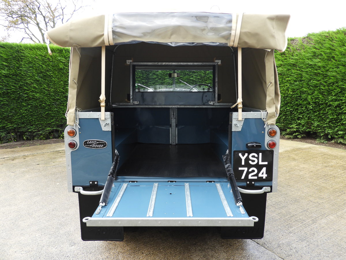 "1961 LAND ROVER SERIES 2 88"" RARE TRUCK CAB FULLY RESTO For Sale (picture 6 of 6)"