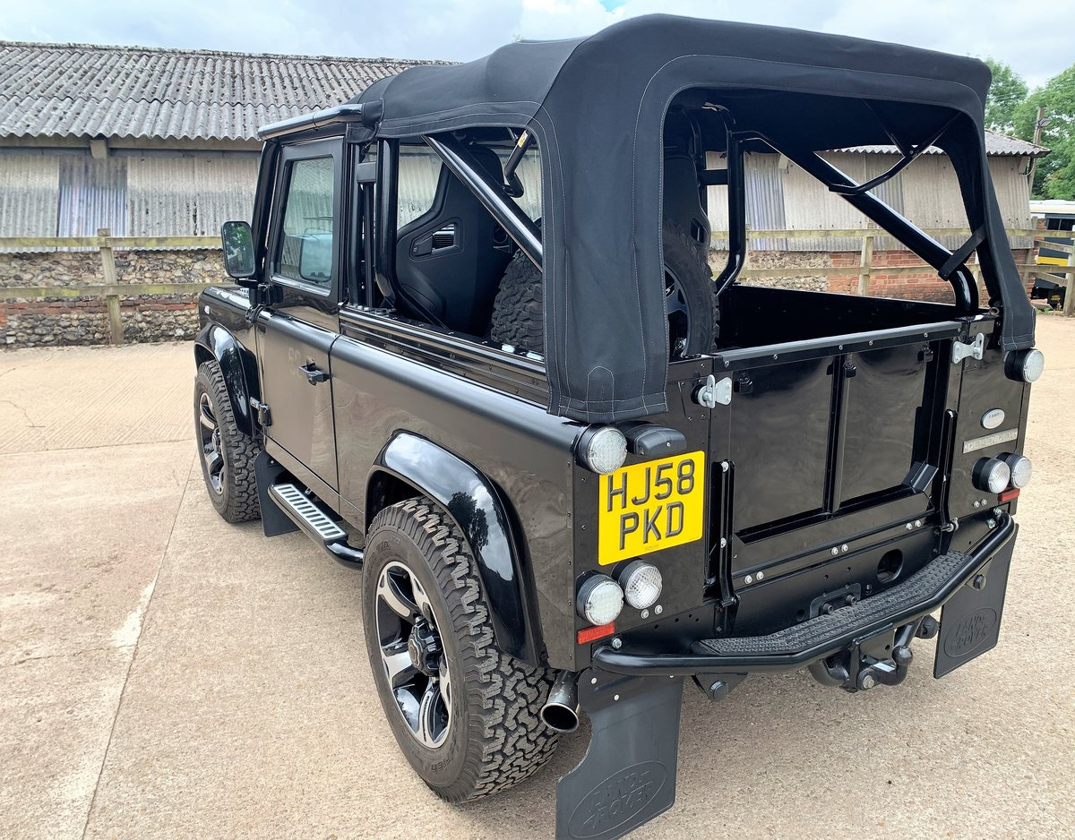 exceptional 2009 Defender 90 SVX soft top fast road stage 2 SOLD (picture 3 of 6)