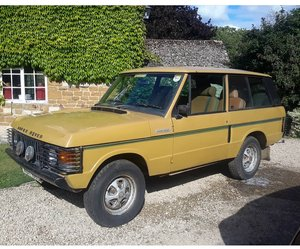 Picture of 1978 Genuine Barn Find Range Rover Classic Suffix F