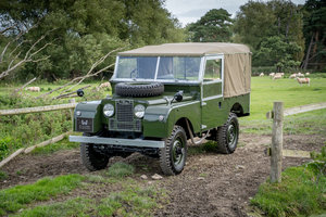 """Picture of Land Rover Series 1 86"""" Nut & Bolt Restoration 1955 For Sale"""