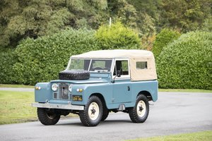 Picture of 1963 Land Rover Série IIA 88' Hardtop For Sale by Auction