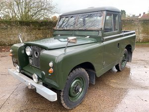 Picture of charming 1961 Series II 88in pickup 1 owner past 31 years SOLD