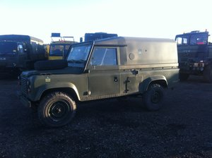 Picture of 1986 Ex military 110 defender