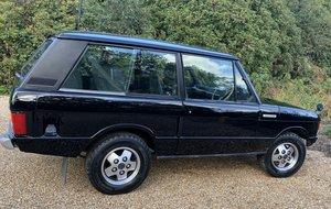 Range Rover Suffix A 2 door
