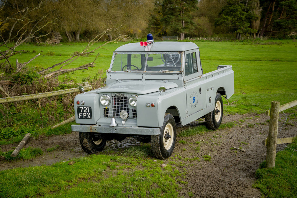 "Land Rover Series 2a 1962 109"" Ex West Sussex Fire Brigade For Sale (picture 1 of 6)"