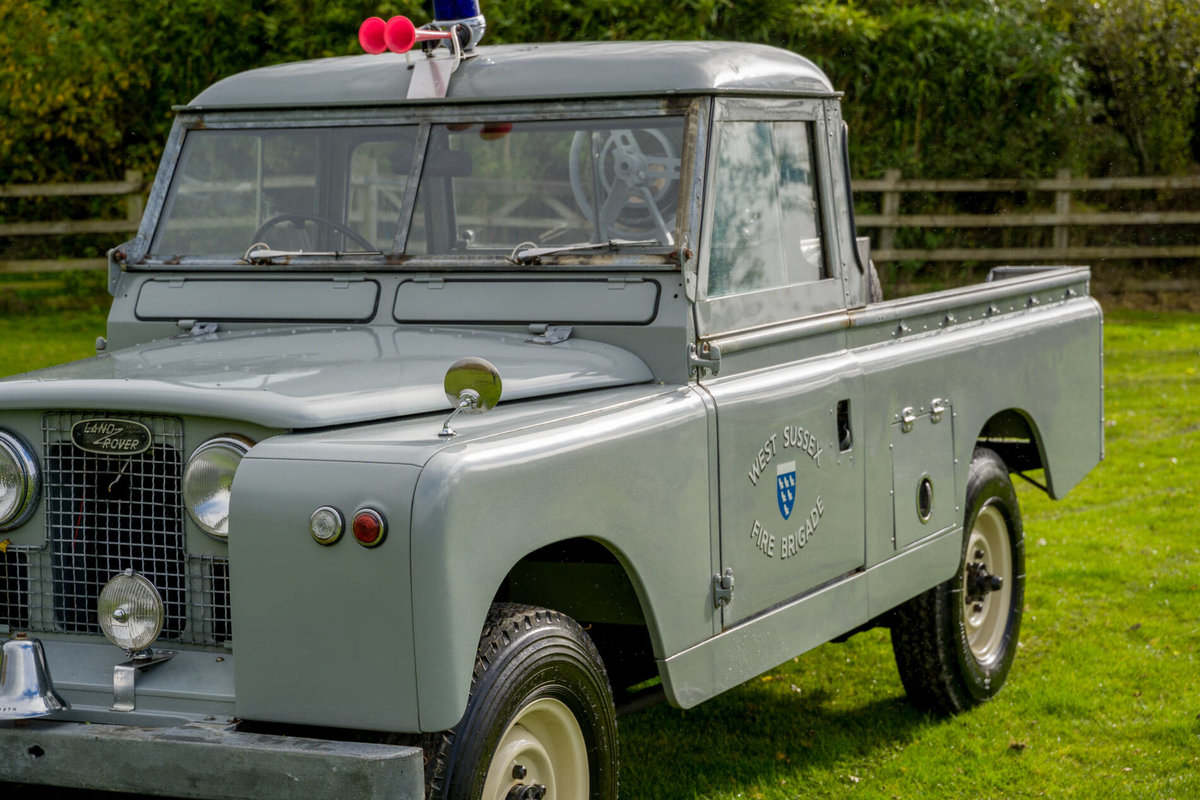 "Land Rover Series 2a 1962 109"" Ex West Sussex Fire Brigade For Sale (picture 2 of 6)"