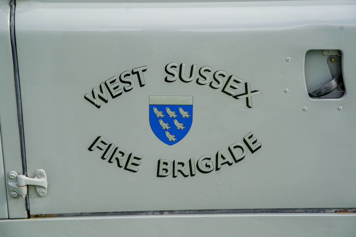 "Land Rover Series 2a 1962 109"" Ex West Sussex Fire Brigade For Sale (picture 6 of 6)"