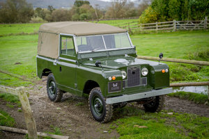 """Picture of Land Rover Series 2a 88"""" Soft Top 1964 Nut & Bolt Restoratio"""