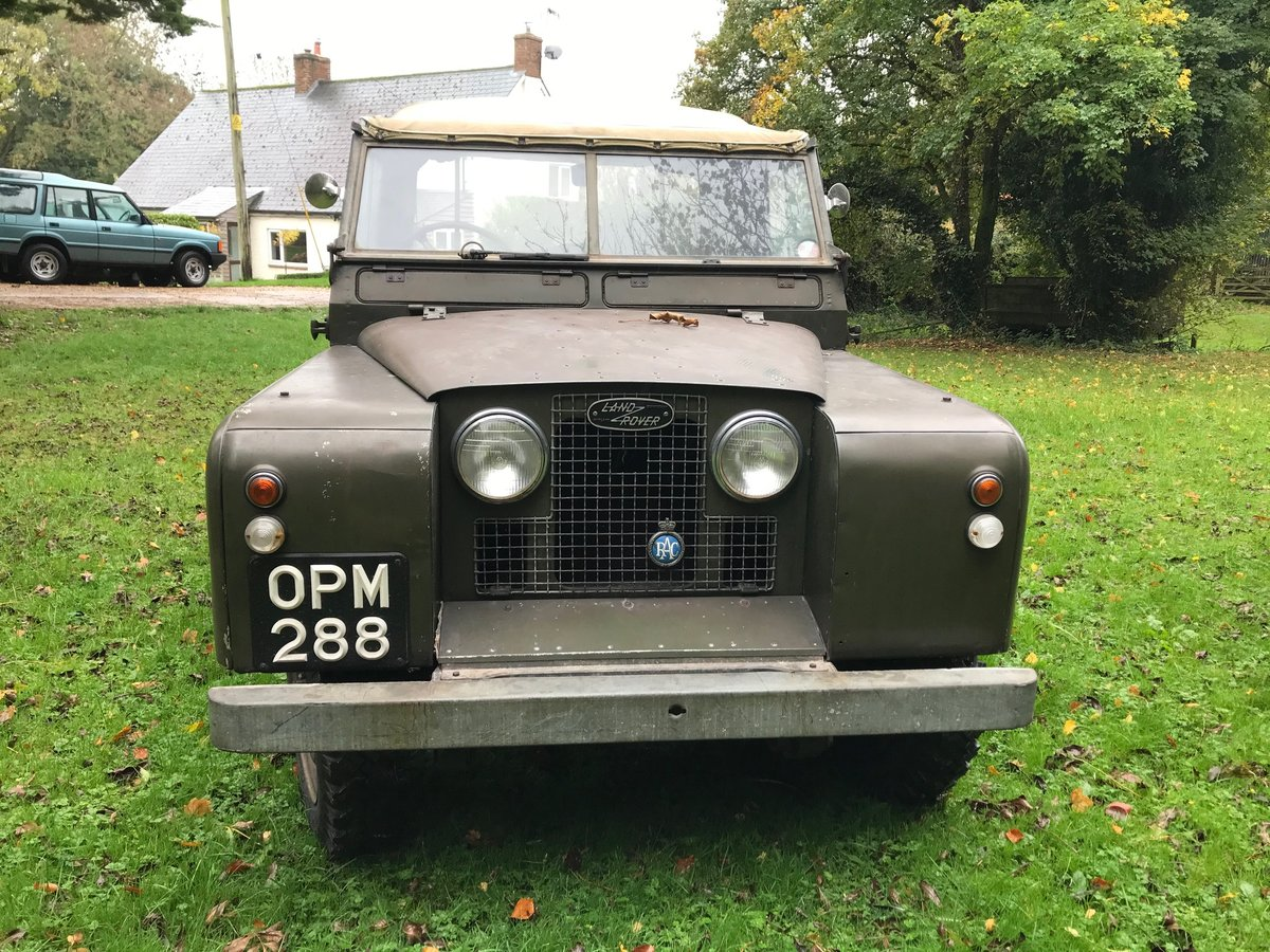Land Rover Series 2 1958 Built 88 SOLD (picture 1 of 6)