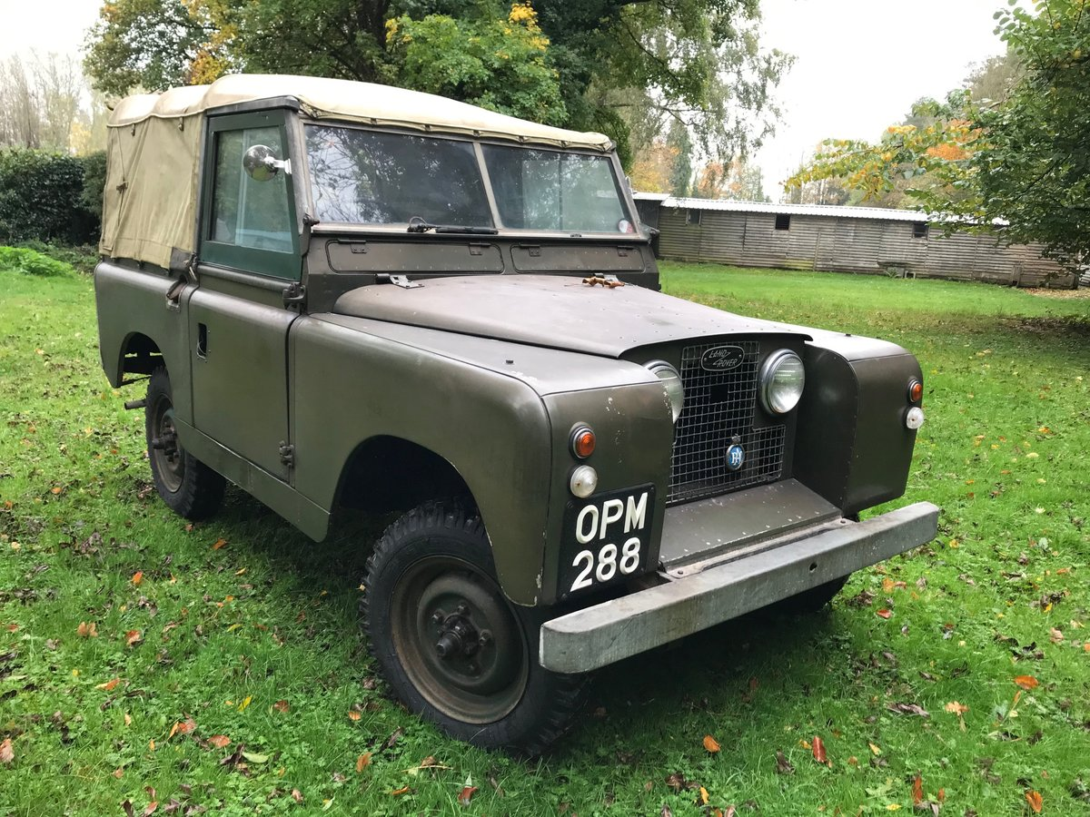 Land Rover Series 2 1958 Built 88 SOLD (picture 2 of 6)