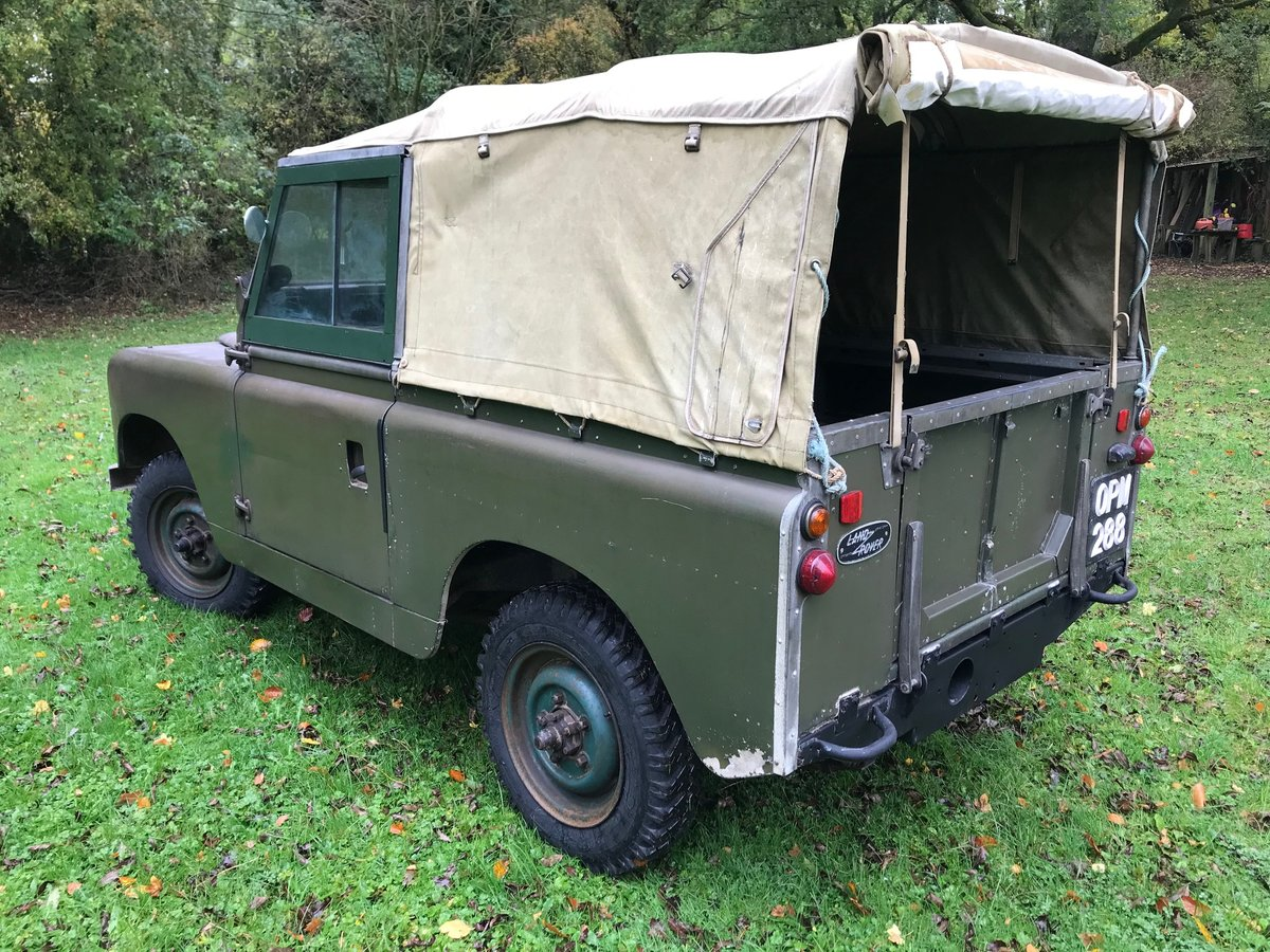 Land Rover Series 2 1958 Built 88 SOLD (picture 3 of 6)