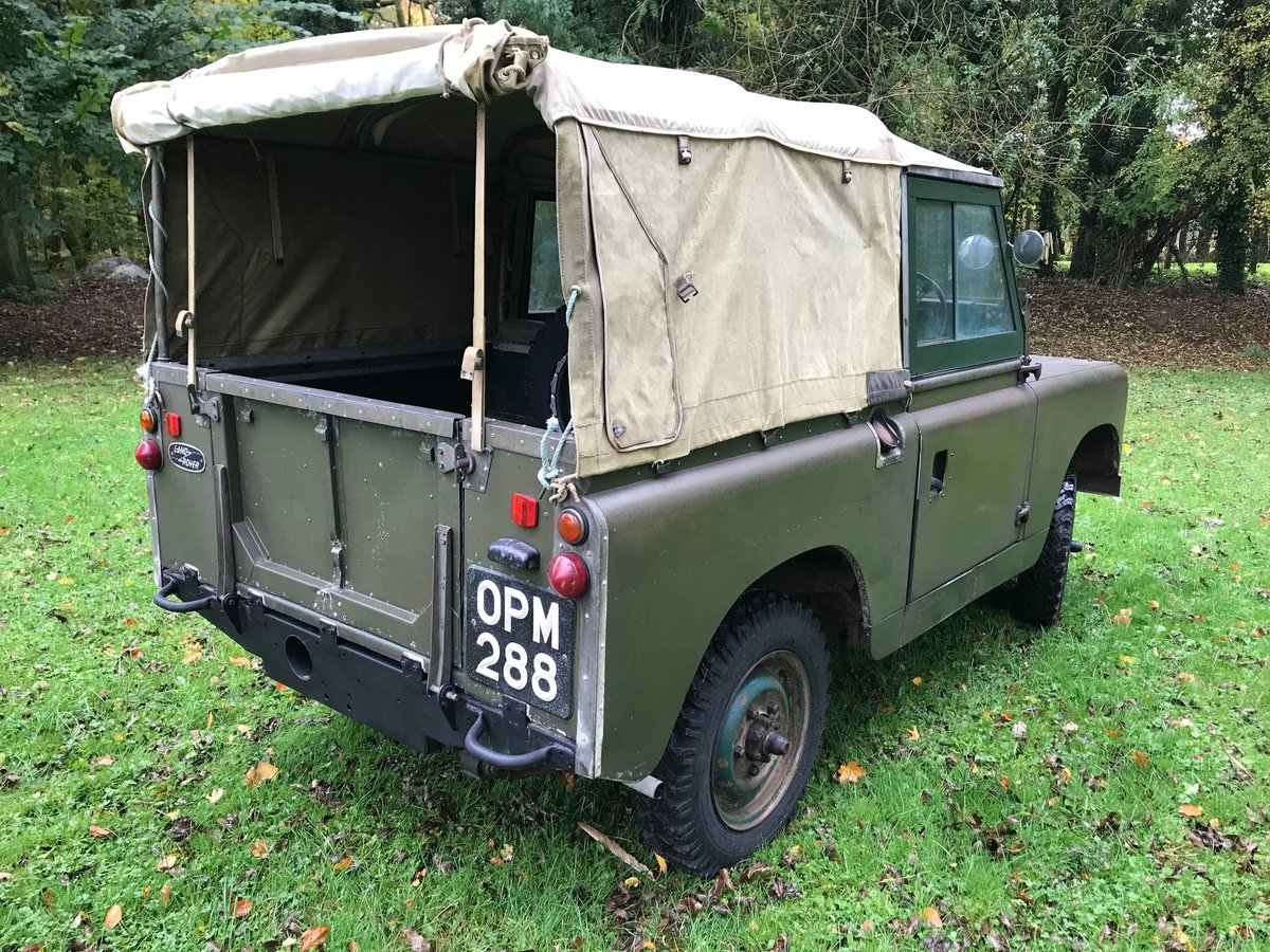 Land Rover Series 2 1958 Built 88 SOLD (picture 4 of 6)