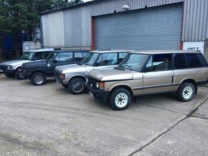 Picture of 1990 Range Rover Classics, 3 door Choice