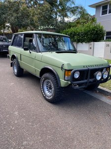 Range rover 1973 suffix B