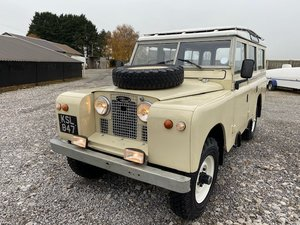 Picture of 1959 Land Rover® Series 2 109 Station Wagon *EARLIEST SURVIVING* For Sale